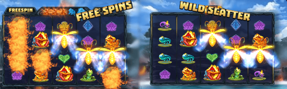 Fire Toad Scatters and Free Spins