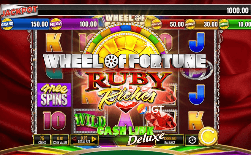 IGT startet Wheel Of Fortune Ruby Riches